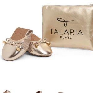 TALARIA Premium Champagne Flats!